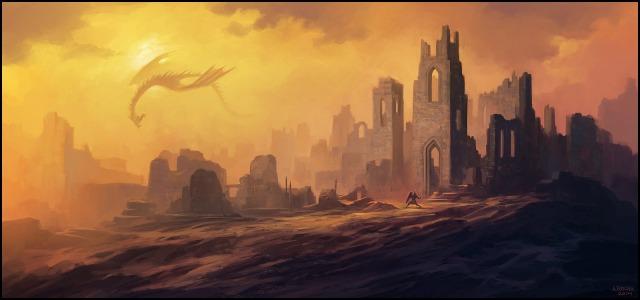 dragon_s_lair_by_andreasrocha-d7nrewc