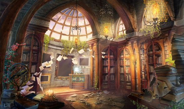 library_by_rei_tanna-d6hc53g