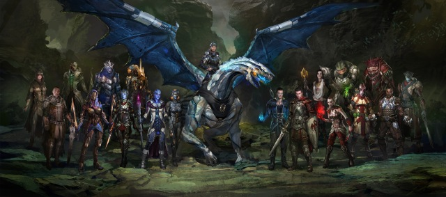 Large cast of characters